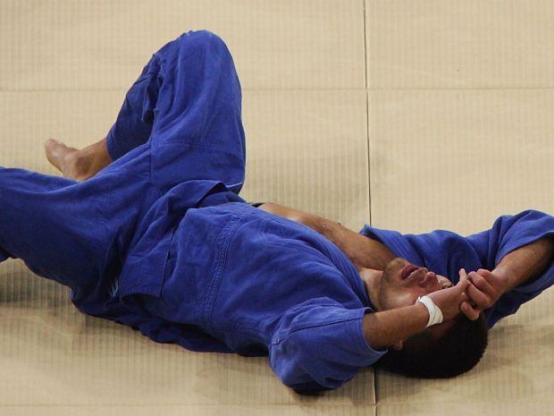 Krawczyk po zakończeniu walki był załamany (fot. Getty Images)
