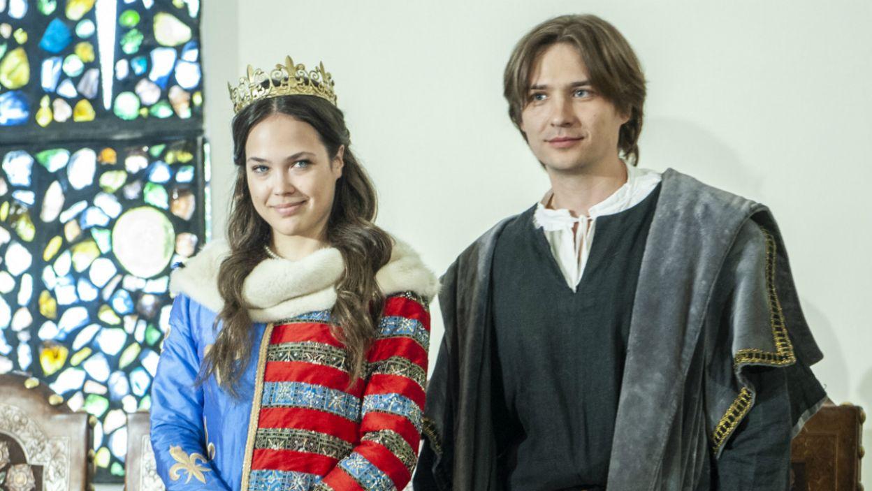 W tych rolach zobaczymy Dagmarę Bryzek i Wasyla Wasyłyka z Ukrainy (fot. Natasza Młudzik/TVP)