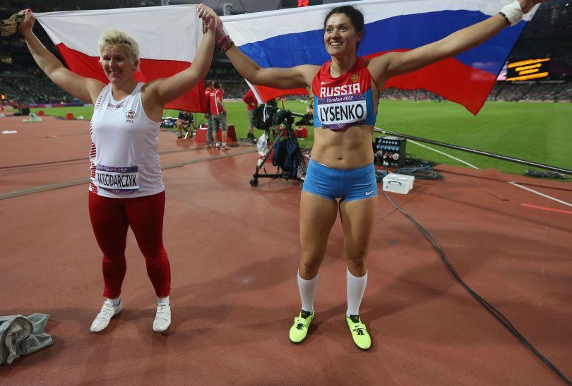 Tatiana Łysenko wygrała konkurs rzutu młotem (fot. Getty Images)