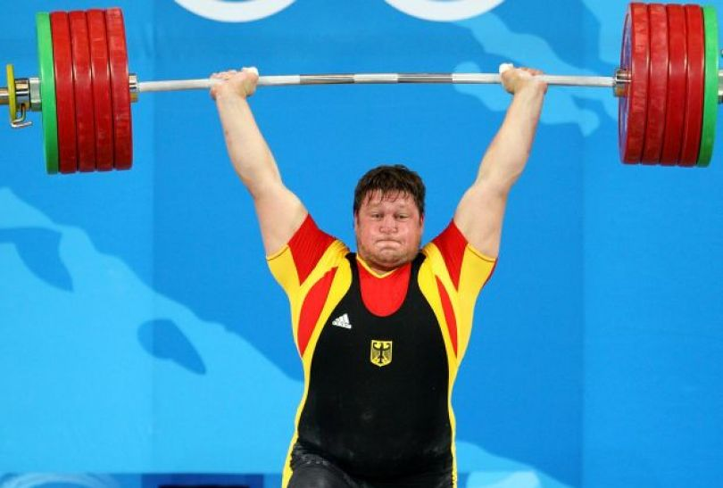 Matthias Steiner – mistrz w kategorii +105 kg (fot. Getty Images)
