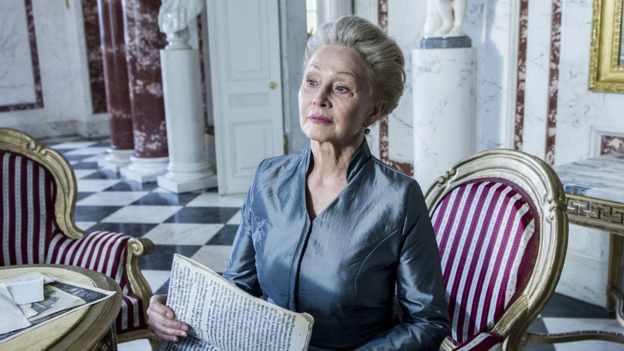 Jako księżną de Vaudemont  zobaczymy Grażynę Barszczewską (fot. Natasza Młudzik/TVP)