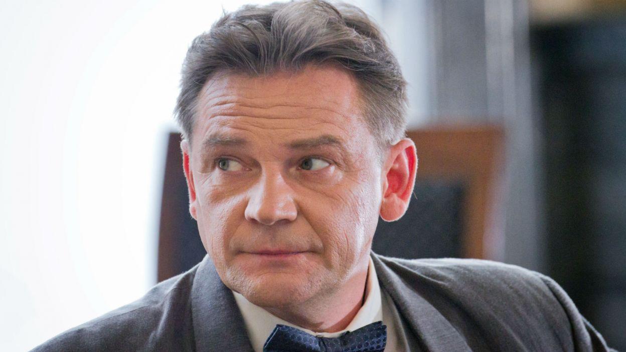 """W rolę Melchiora Wańkowicza, autora reportażu """"Na tropach Smętka"""" wcielił się Ireneusz Czop (fot. Mirosława Łukaszek)"""