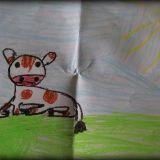Rysunek Gabrysi Bieleckiej, 6 lat