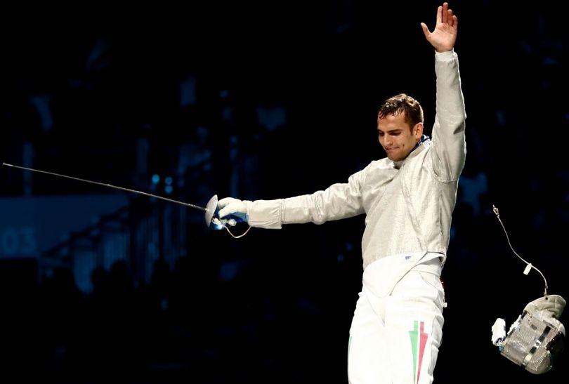 Aron Szilagyi – indywidualny mistrz olimpijski w szabli (fot. Getty Images)