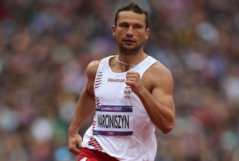 Marcin Marciniszyn nie awansował do półfinału biegu na 400 metrów (fot. Getty Images)