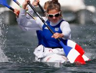 Francuzki w rywalizacji kajakowych czwórek awansowały do finału (fot. Getty Images)