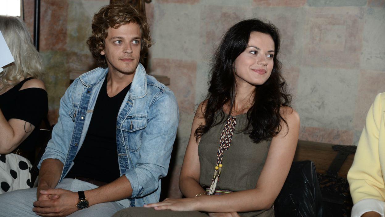 Towarzyszył jej serialowy Niemierza, czyli Piotr Gawron-Jedlikowski (fot. J. Bogacz/TVP)