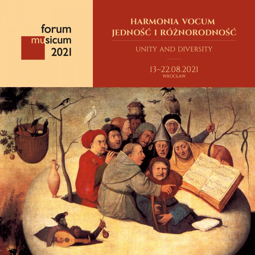 NFM I FORUM MUSICUM 2021 I Harmonia vocum – jedność i różnorodność