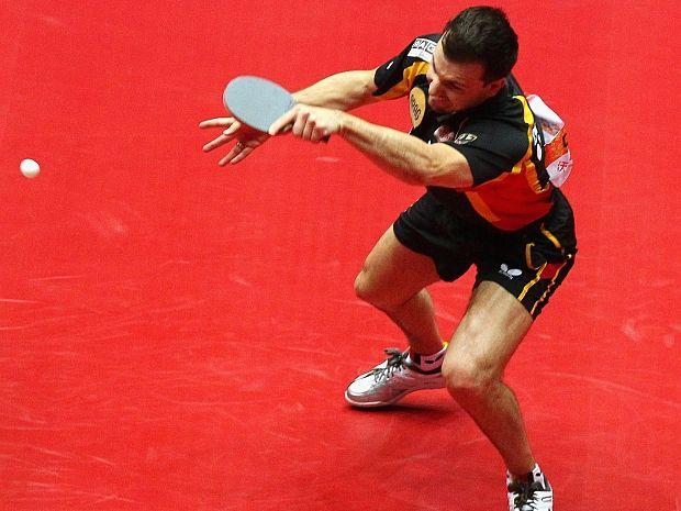 Timo Boll będzie w Londynie bronił honoru europejskiego tenisa stołowego (fot. Getty Images)