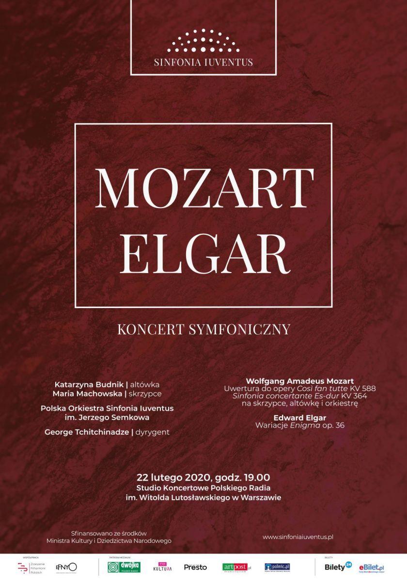 MOZART | ELGAR – koncert symfoniczny