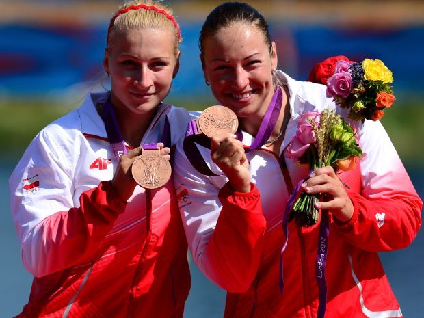 Karolina Naja i Beta Mikołajczyk zdobyły brąz w Lodnynie (fot. Getty Images)