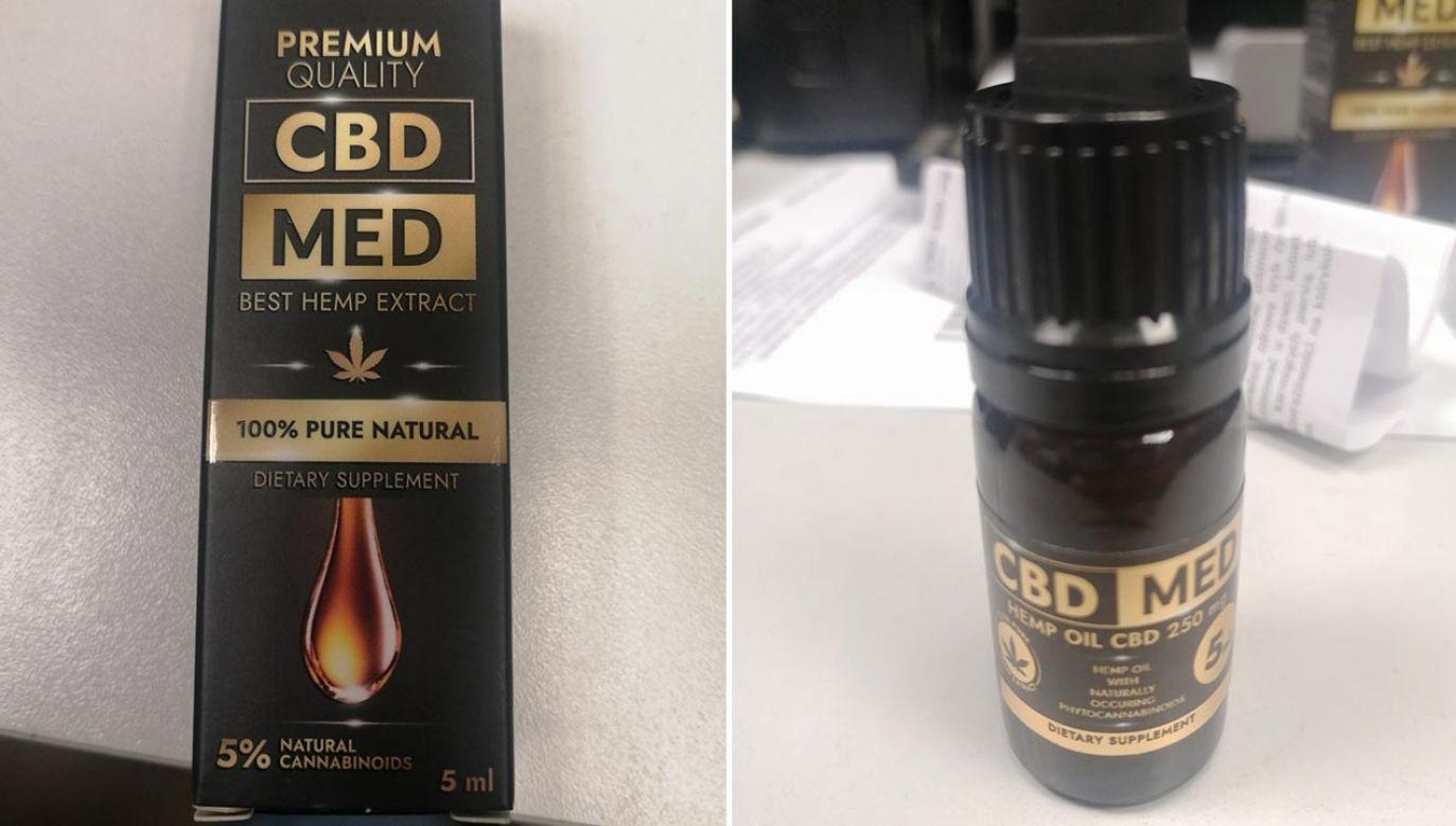 Ten olejek CBD jest niebezpieczny – wynika z badań Głównego Inspektora Sanitarnego (fot. GIS)