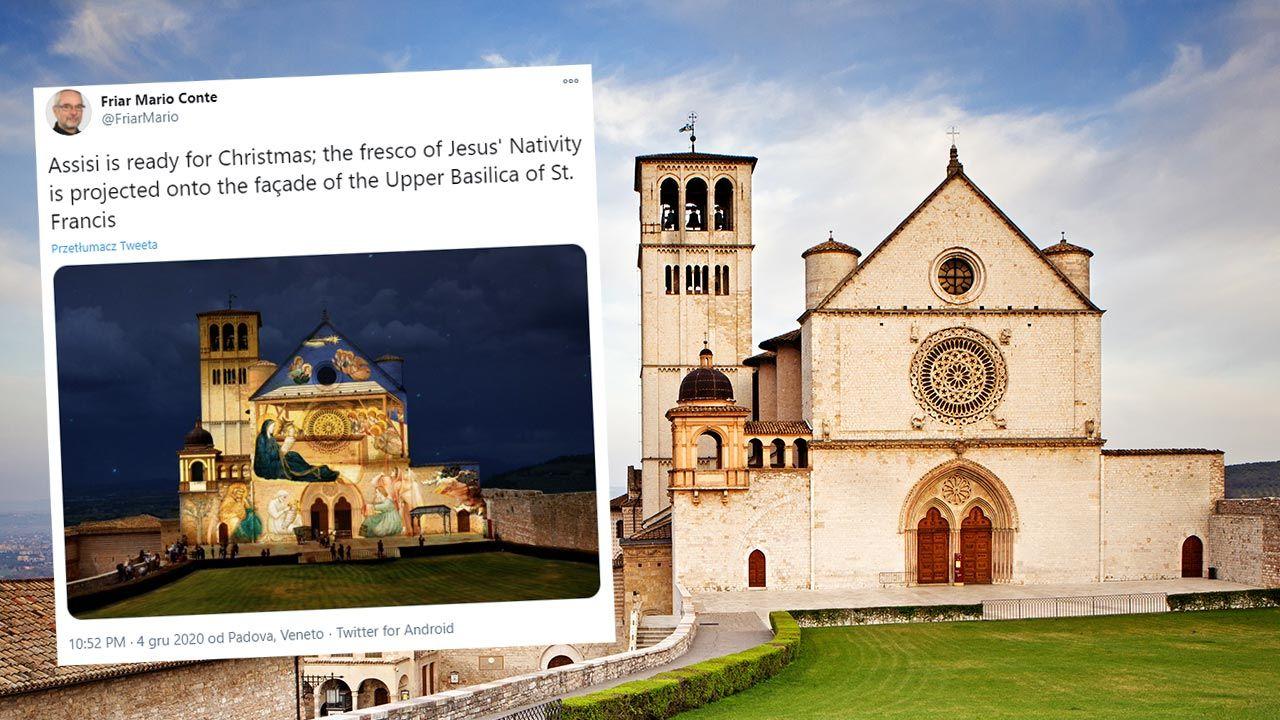 Iluminacja fasady bazyliki będzie jedną ze świątecznych dekoracji (fot. Shutterstock/Susan Schmitz)