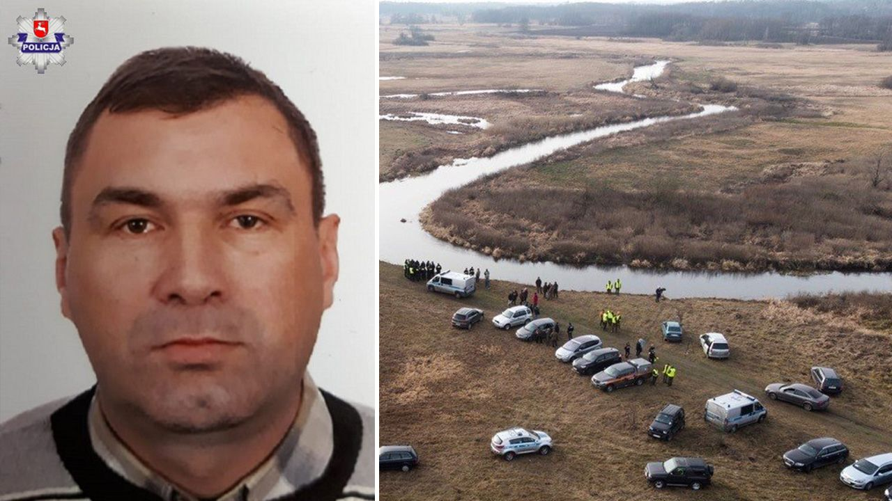 Jak ustaliła policja, właściciel samochodu – 45-letni radny gminy Terespol (na zdj.) – nie wrócił do domu (fot. Policja)