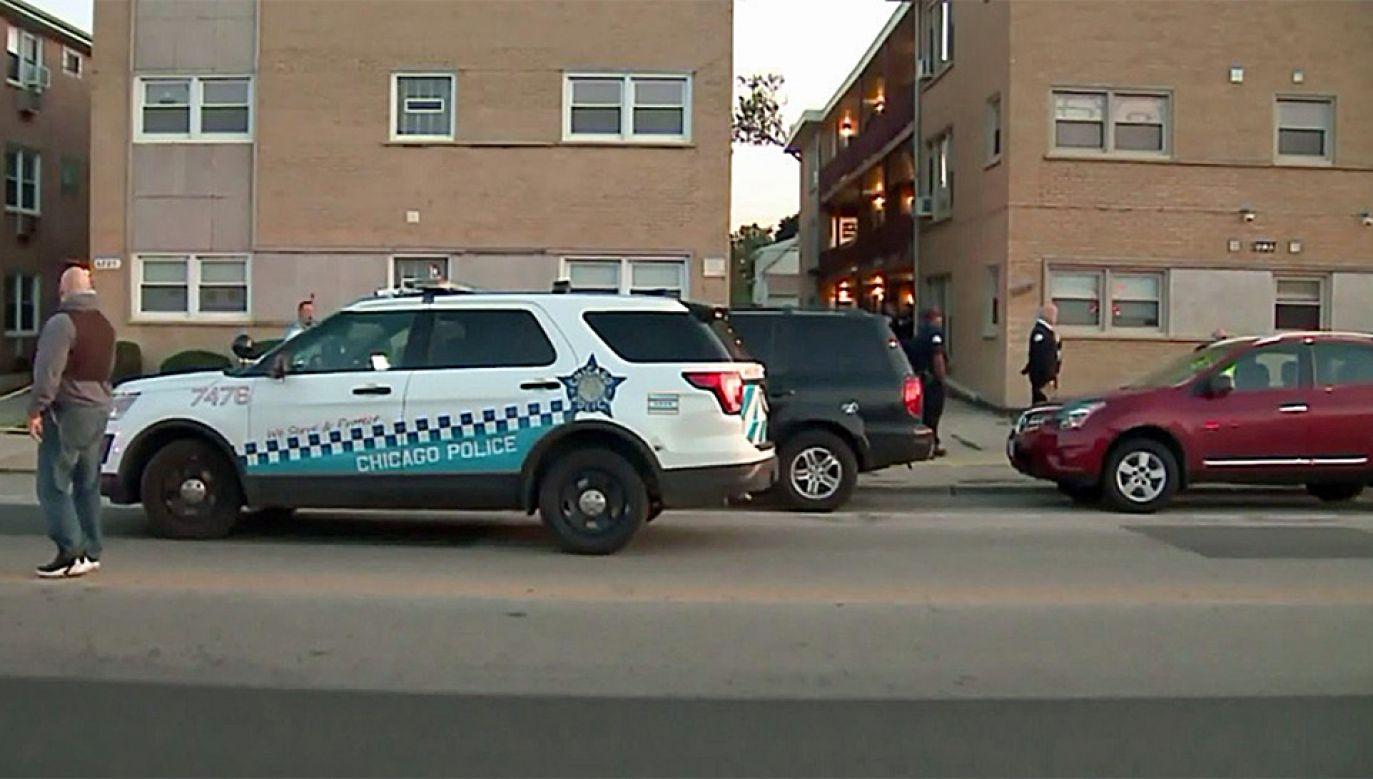Policja zatrzymała sprawcę (fot. TT/NYPost)