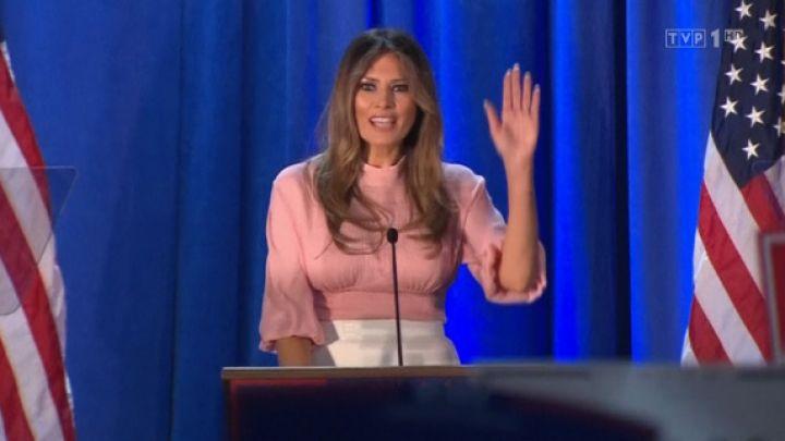 860d18894d6 Melania Trump, nowa pierwsza dama USA - tvp.info