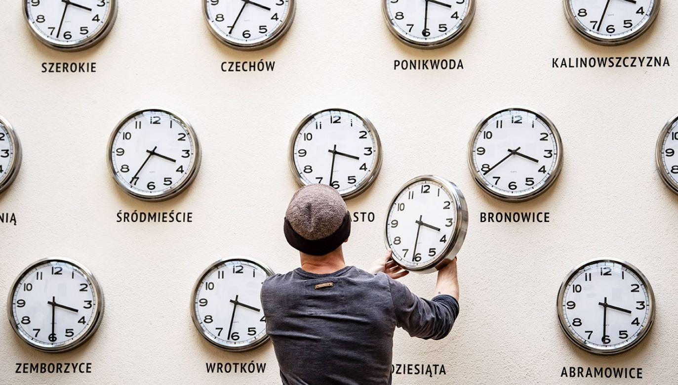 Ministerstwo Rozwoju i Technologii nie pracuje nad zniesieniem zmian czasu (fot. arch.PAP/Wojciech Pacewicz)