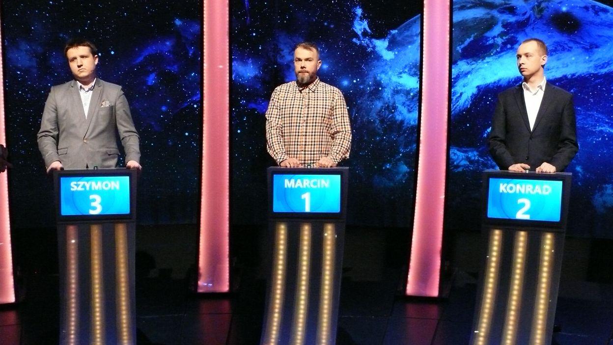 Trójka finałowa zawodników 17 odcinka 118 edycji