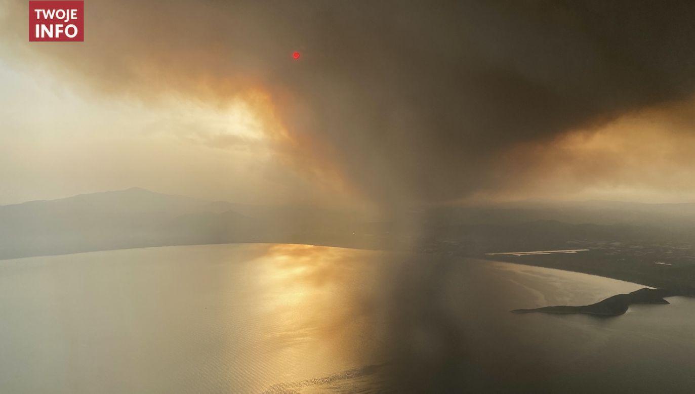 Pożary utrzymują się już czwarty dzień (fot. Twoje Info)