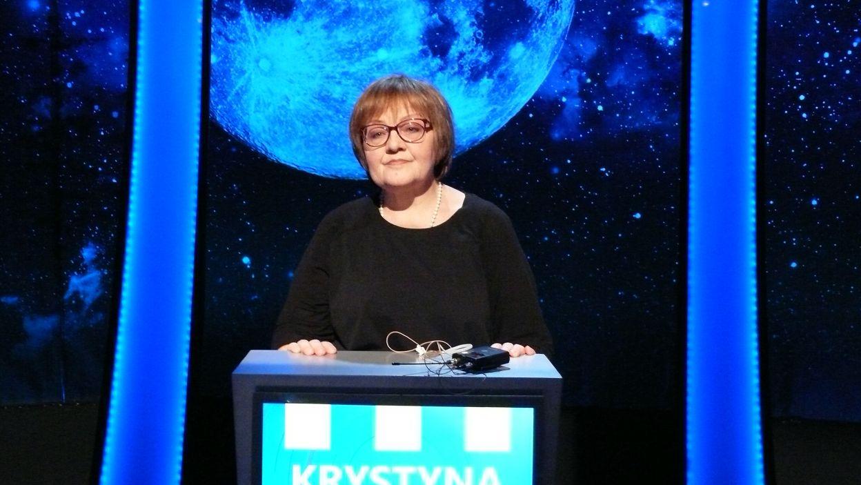 Pani Krystyna wylosowała 8 stanowisko gry