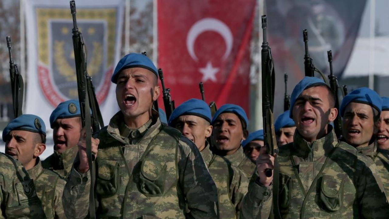 Tureckie wojsko (fot. Getty Images/Anadolu Agency/Contributor)