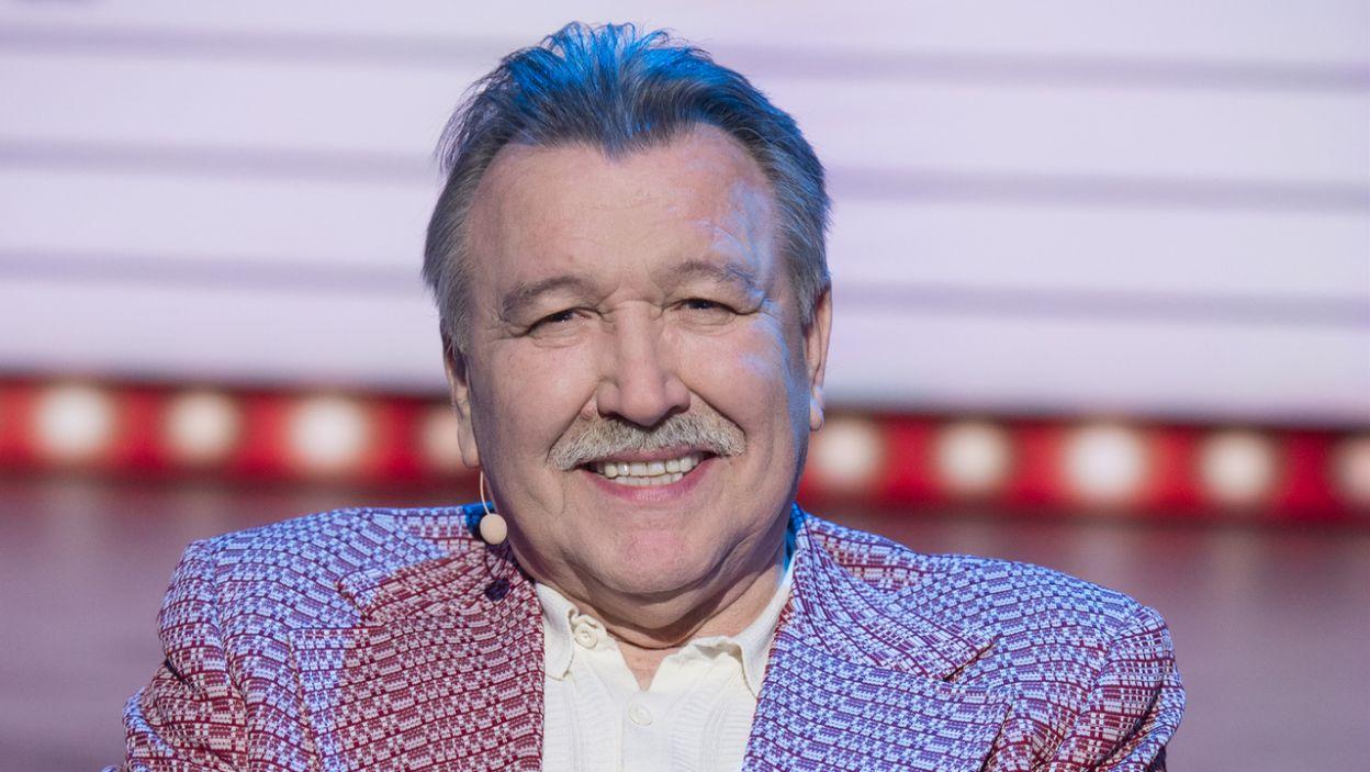 Tajemniczym gościem z 1966 roku okazał się Marian Lichtman, jeden z założycieli legendarnej grupy Trubadurzy (fot. TVP)