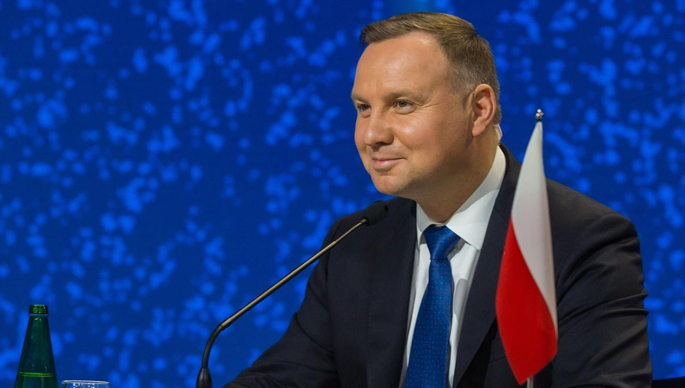 Prezydent Andrzej Duda (fot. KPRP/Igor Smirnow)