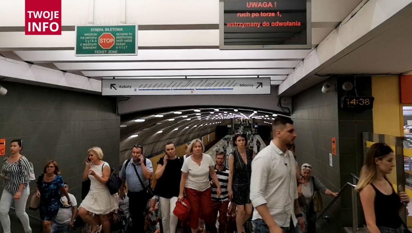 Stacja Metro Wierzbno (fot. Twoje info)