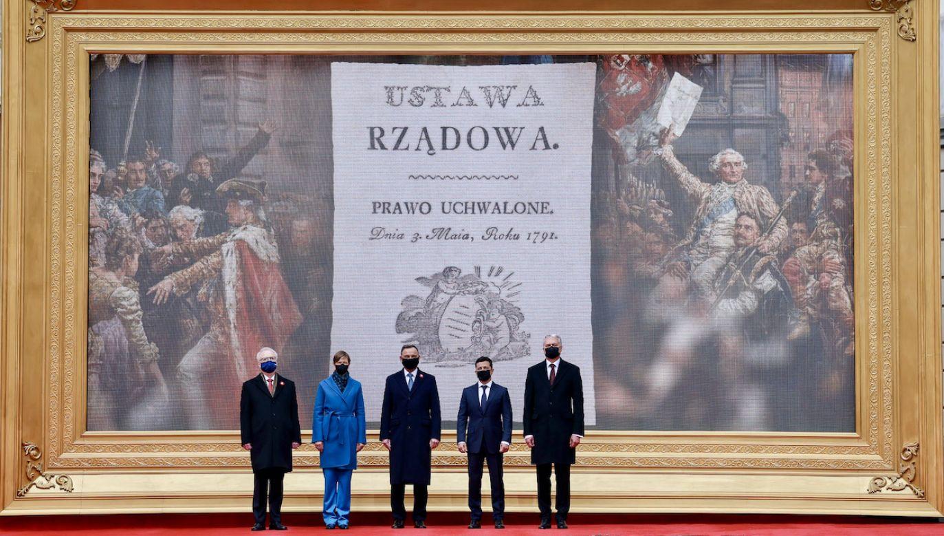 Artykuł prezydenta Dudy ukazał się m.in. w Iranie (fot. Grzegorz Jakubowski/KPRP)