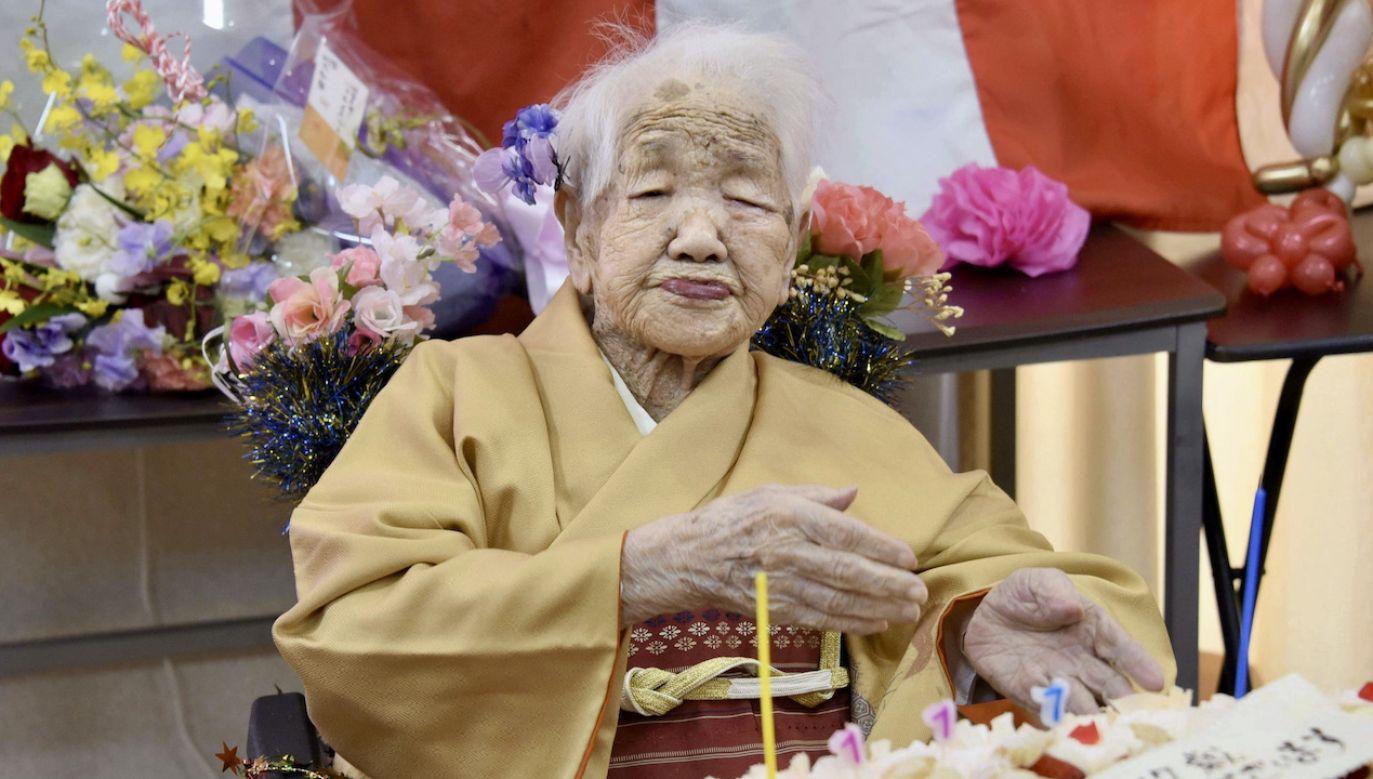 118-letnia Japonka Kane Tanaka (fot. arch.PAP/Newscom)