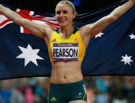 Sally Pearson z Australii pobiła rekord olimpijski i zdobyła złoto w biegu na 100 metrów przez płotki (fot. Getty Images)