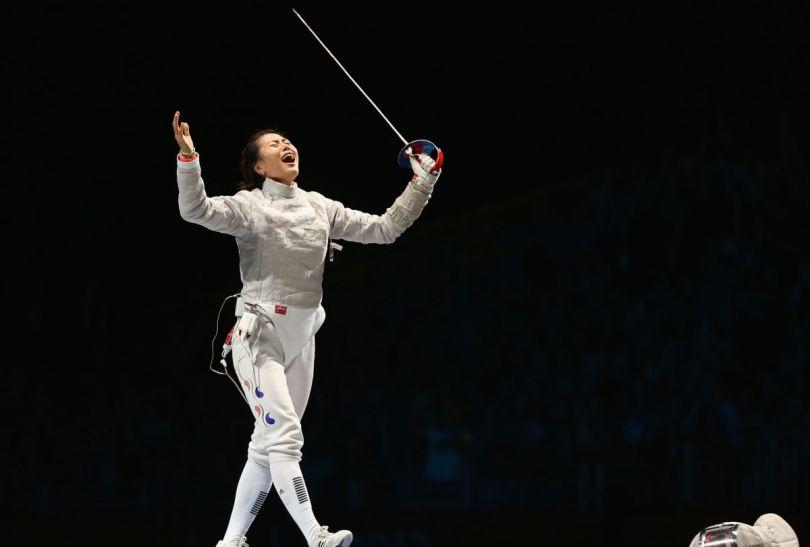 Kim Ji-Yeon – indywidualna mistrzyni olimpijska w szabli (fot. Getty Images)