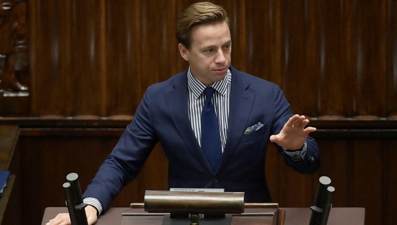 Informacje o możliwym odrzuceniu sprawozdania Konfederacji pojawiły się kilka dni temu (fot. PAP/Marcin Obara)