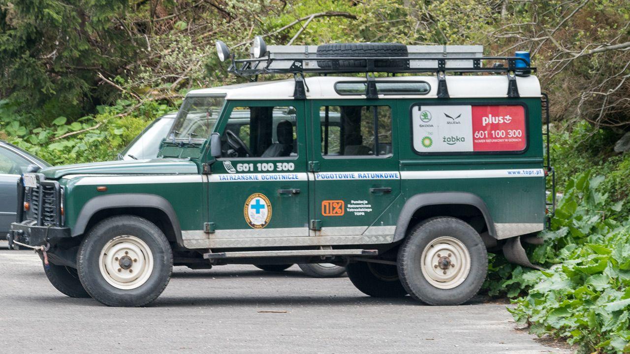 Na pomoc poszkodowanemu wyruszyła 14-osobowa wyprawa (fot. Shutterstock)