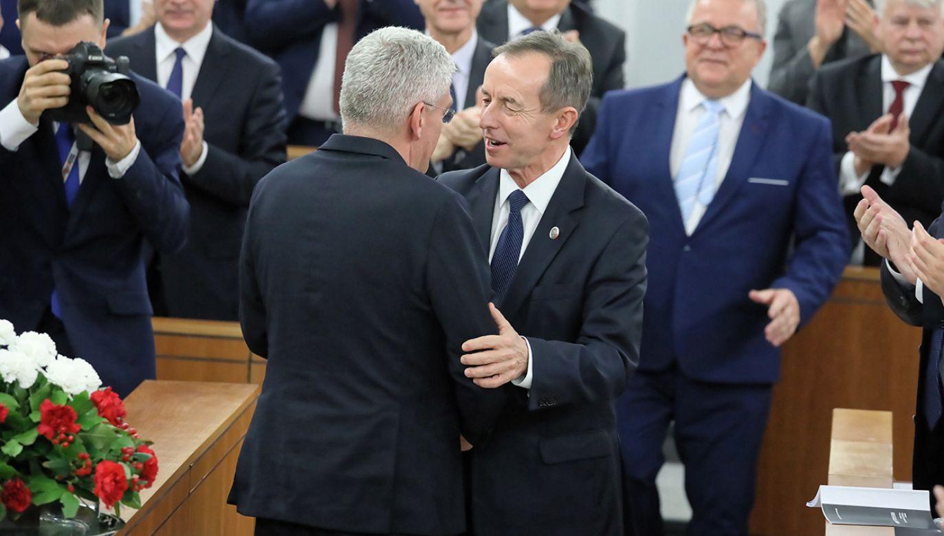 Tomasz Grodzki otrzymał 51 głosów (fot. PAP/Tomasz Gzell)