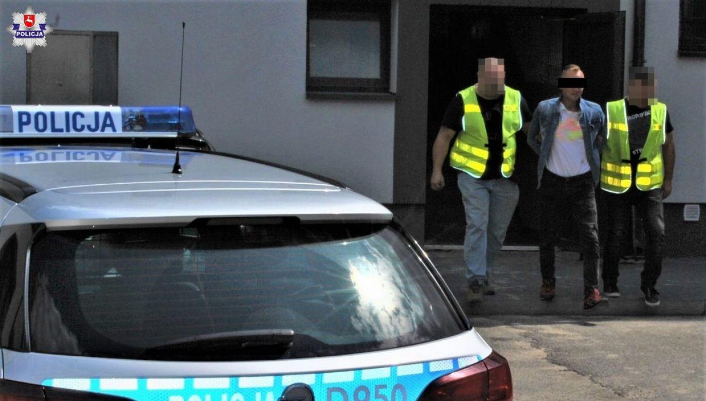 Sprawa została przekazana do prokuratury (fot. Policja Lubelska)