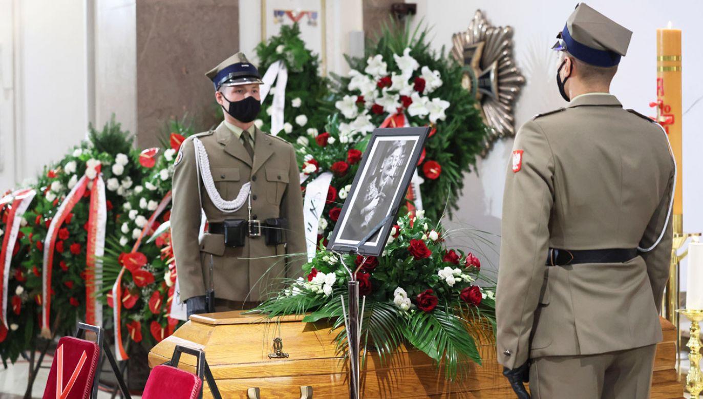Uroczystości pogrzebowe dr. Jerzego Targalskiego (fot. PAP/L.Szymański)