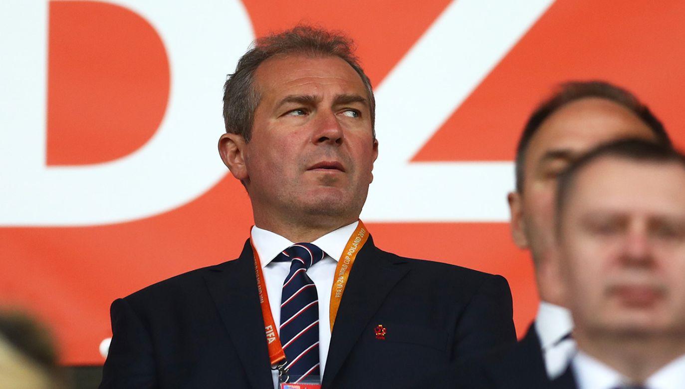 Przez ostatnie osiem lat Marek Koźmiński był wiceprezesem ds. zagranicznych i szkoleniowych (fot. Lars Baron - FIFA/FIFA via Getty Images)