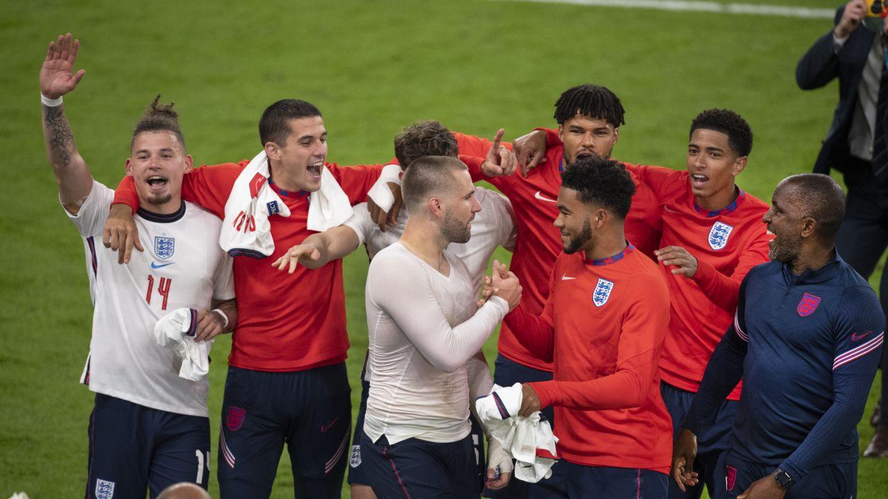 Piłkarze reprezentacji Anglii (fot. Getty Images)