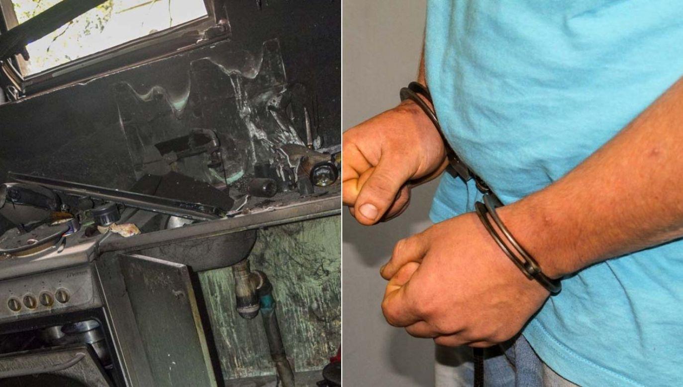 Sprawcy grozi nawet 10 lat więzienia (fot. Lubuska Policja)