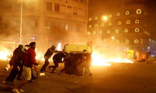 Zwolennicy niepodległości są świetnie zorganizowanym wojskiem - twierdzą Hiszpanie. Fot. REUTERS/Jon Nazca
