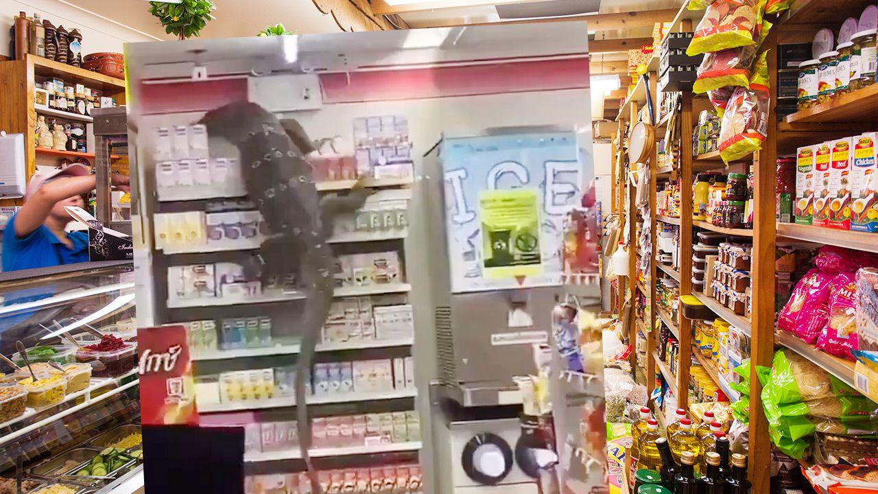 Sprzedawczyni wezwała policję (fot. Shutterstock; Twitter)