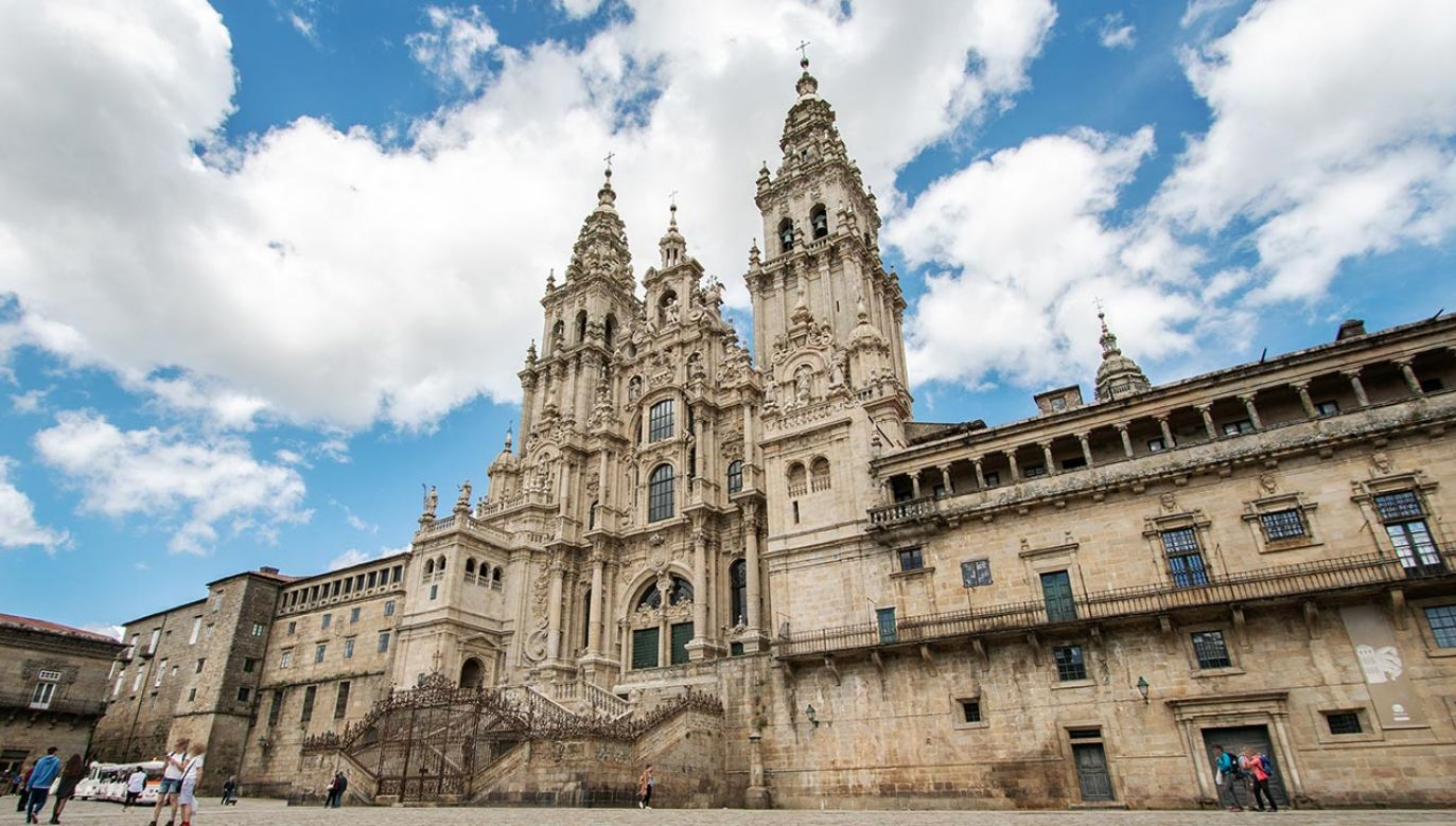 Katedra w Santiago de Compostela (fot. Shutterstock/Formatoriginal)