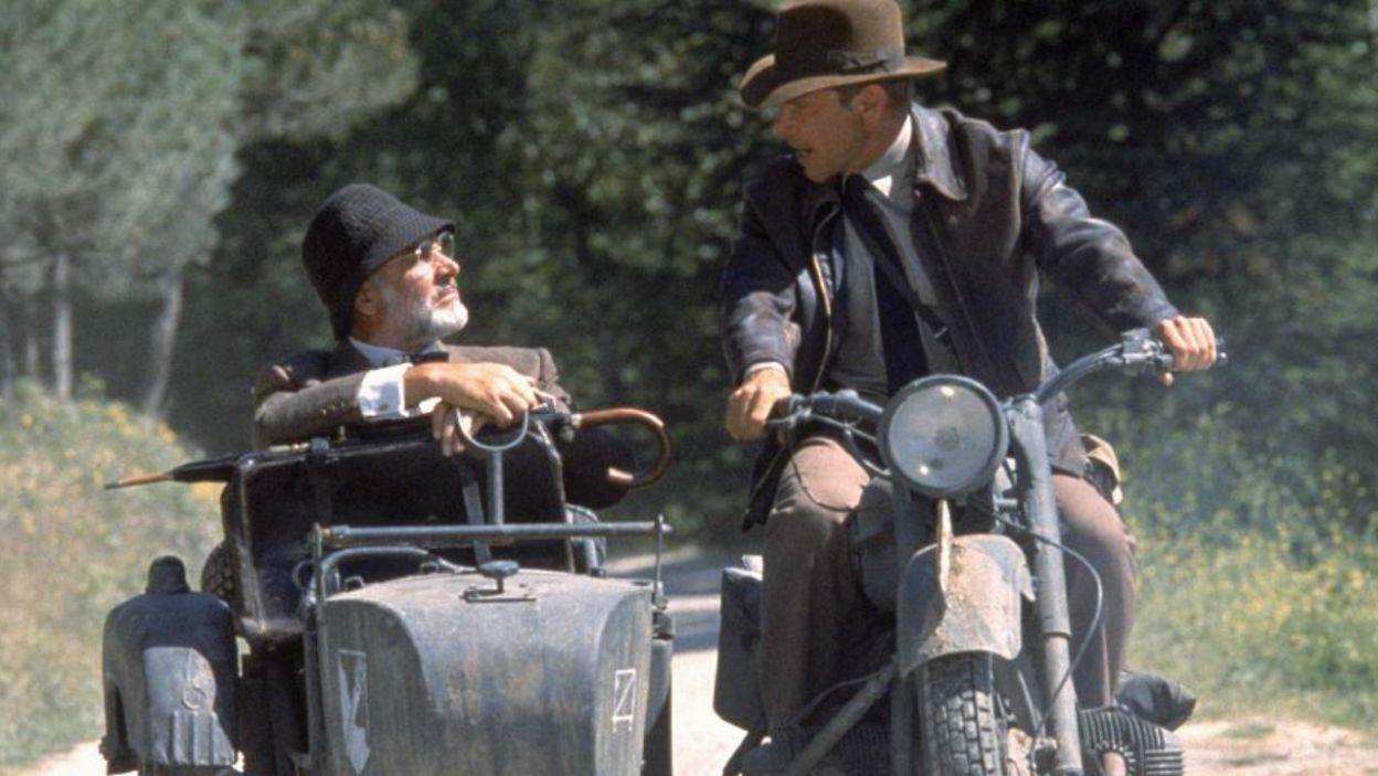 """""""Indiana Jones i ostatnia krucjata"""" (1989) to wyjątkowa rola u boku Harrisona Forda (fot. TVP)"""