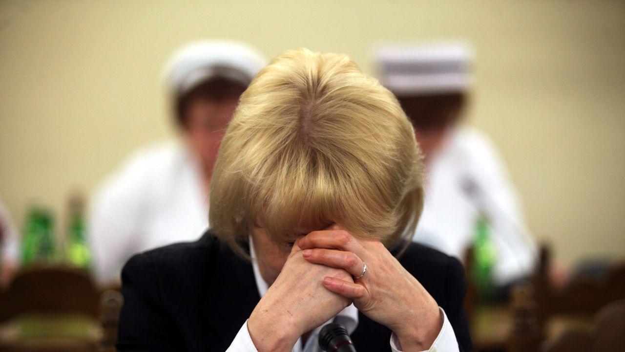 Posłanka PiS Jolanta Szczypińska (fot. PAP/Tomasz Gzell)