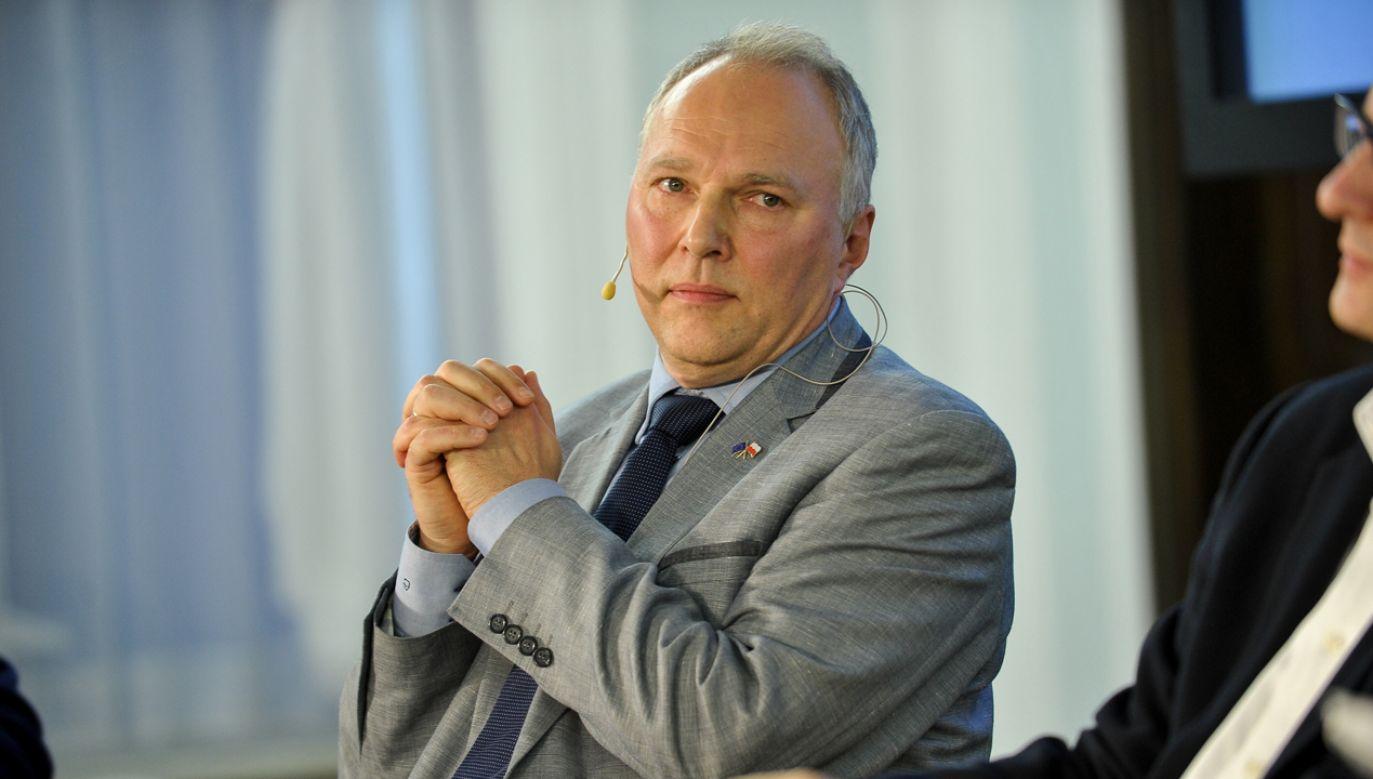 Zdaniem Jarosława Kurskiego wizja narodowego pojednania demotywuje wyborców (fot. PAP/Marcin Obara)