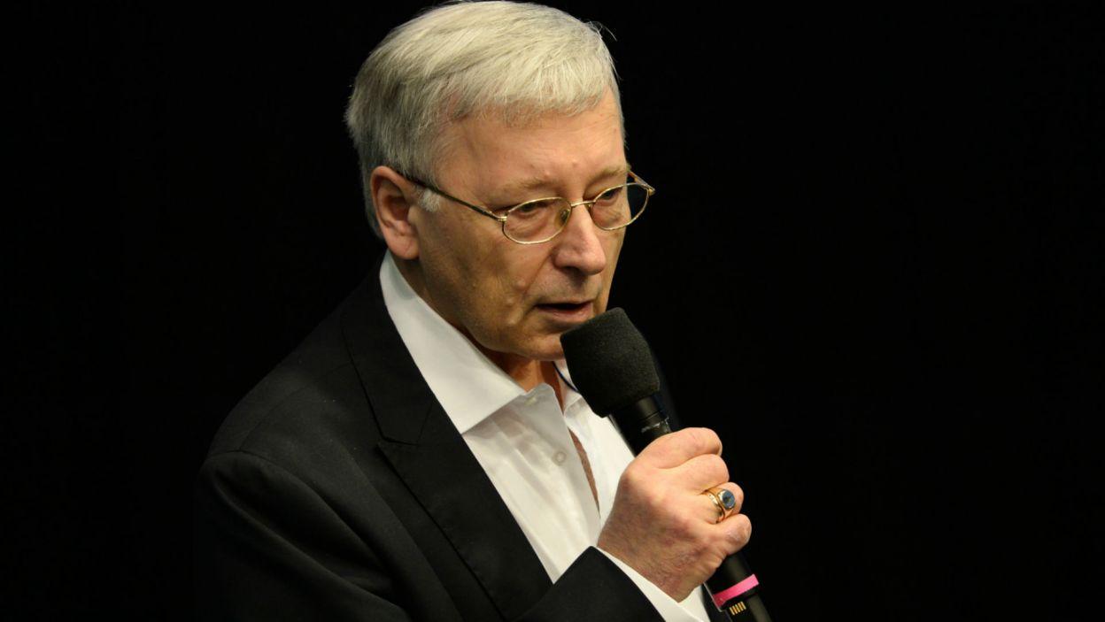 Obecny był także współautor scenariusza Jan Parys, minister obrony narodowej w rządzie Jana Olszewskiego (fot. Jan Bogacz)