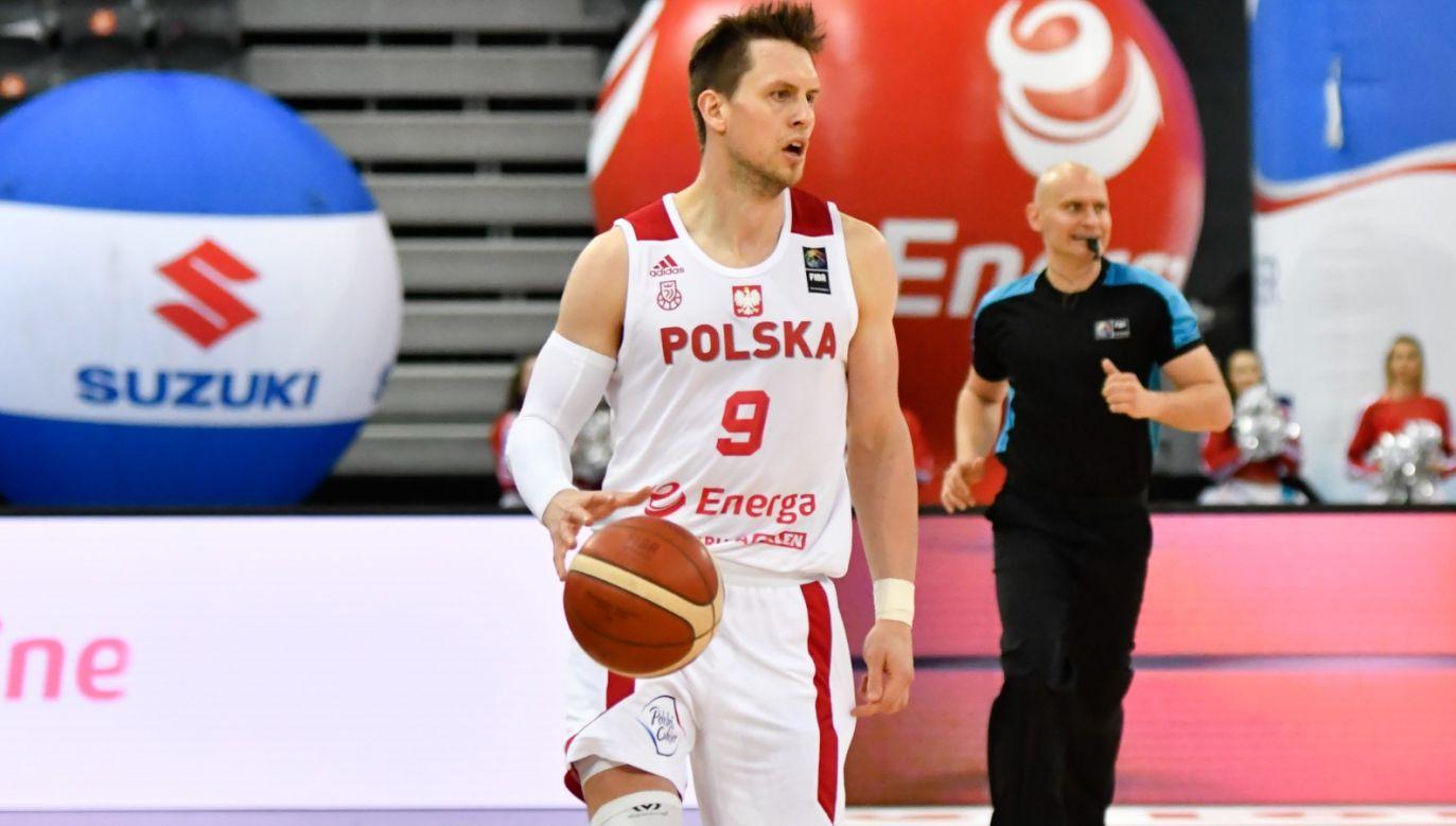 Do reprezentacji Polski po prawie dwumiesięcznej przerwie wrócił Mateusz Ponitka (fot. 400mm.pl).