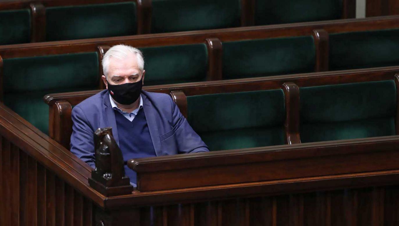 Na jakie poparcie może liczyć Jarosław Gowin? (fot. PAP/Wojciech Olkuśnik)