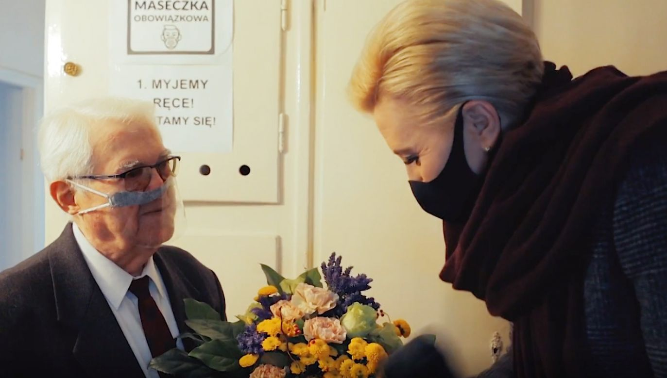 Zbigniew Daab  skończył 92 lata (fot. Nie zapomnij o nas)